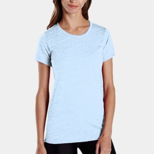 Ladies' Short-Sleeve Triblend Crew Thumbnail