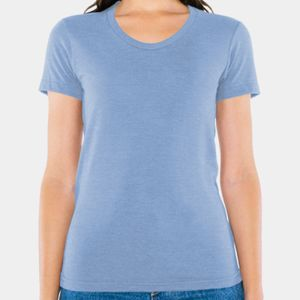 Ladies' Triblend Short-Sleeve Track T-Shirt Thumbnail